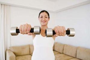 Den beste treningen for Love Handles med vekter