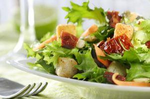 Hvordan å miste vekt ved å spise riktig mat