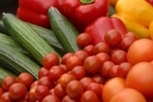 Hvordan du skal vaske friske grønnsaker