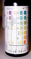 Fargen på urinen Bånd til Ketose