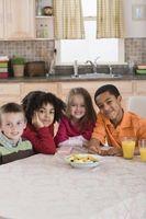 Byråer som leverer informasjon om ernæring for barn