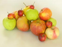 Hvordan å miste vekt spise epler og druer