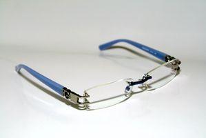 Hvordan skal bore Brilleglass