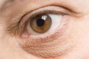 Knox Gelatin og mørke ringer under øynene