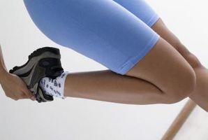 En-etappers Stående hoftebøyning & Knee extensor Stretch
