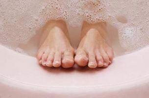 Slik fjerner giftstoffer fra føttene