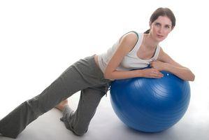 Hvordan å pumpe opp en treningsball