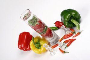 Liste over Thermogenic Frukt og grønnsaker