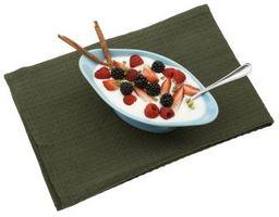 Å spise frukt og yoghurt etter trening