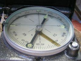 Enkel måte å kalibrere en magnetisk kompass