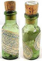 Homeopatisk middel for barberkniv støt