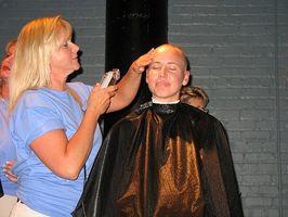 Å miste håret under kjemoterapi