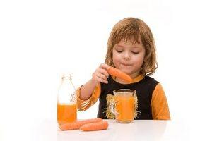 Dietter for barn med lite karbohydrater, lav sukker og High Protein