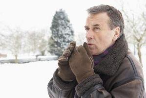 Hvordan holde Fingers Varm ved temperaturer under null
