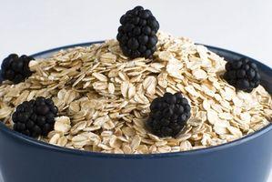 Hvordan spise havre å miste vekt