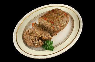 Hvordan lage lav-karbohydrat Meat Loaf