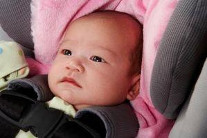 Car Seat Sikkerhet for babyer i Pickups