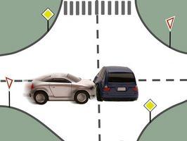 Vanlige problemer med ryggen etter en mindre bilulykke