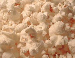 Air poppet popcorn Vs.  Olje Ferdig