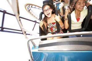 Hvordan kan jeg overvinne å være redd for høyde Roller Coasters?