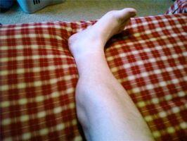 Leg krampe Relief