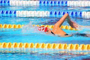 Hvordan beregne forbrenning per minutt med Swimming