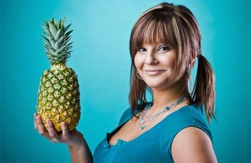 Hvordan å miste vekt spise ananas