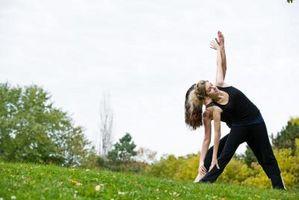 Hva er Two Yoga Poses som styrker Quadriceps?