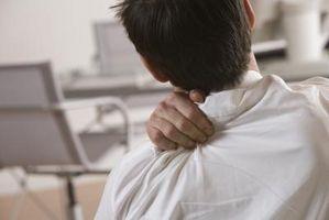 Datamaskin Relaterte rygg og skulder smerter