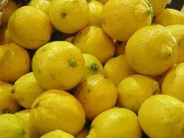 Hvordan bruke sitronsaft