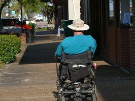 Hvordan endre dekkene på en elektrisk rullestol