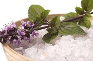 Fordeler med Sea Salt Bath Crystals