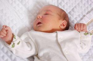 Tett nese hos spedbarn og Sleeping