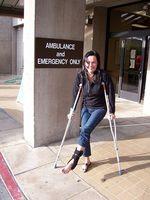 Tegn og symptomer på en revet ligament i foten