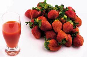 Hvordan Juice Jordbær