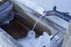 Ice Bath Behandling for angst