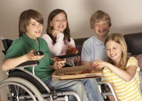 Tilskudd til funksjonshemmede barn