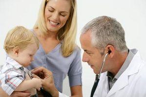 Behandling for babyer med magen influensa
