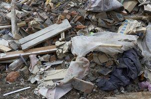 Produksjon og avhending av avfall