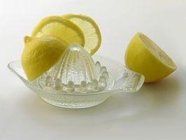 Hvordan bruke den Lemonade rens for vekttap