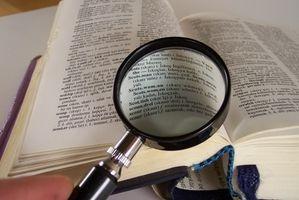 Hvordan bruke en Reading Forstørrer