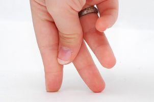 Hvordan få Slankere Fingers