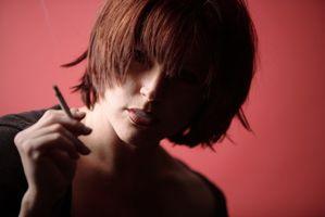 Tobakksskader på et utviklingsland baby