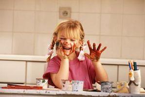 Sensoriske aktiviteter for barn i et selvstendig Klasserom