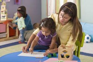 Vurderingene verktøyene som brukes i barnehager