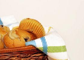 Hvordan lage en sunn Blueberry Muffin
