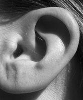 Menneskelige øret Parasitter forårsaker smerte