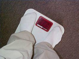Hvor fort kan en person miste vekt sunt?