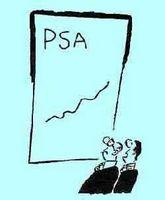 Hva kunne heve en PSA-test nummer?