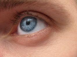 kul på innsiden av øyelokket